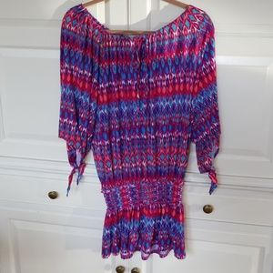 Bright & Colorful Swimsuit Cover-Up